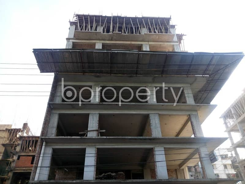 See This Office Space For Sale Located In Banasree Near To Faizur Rahman Ideal Institute .