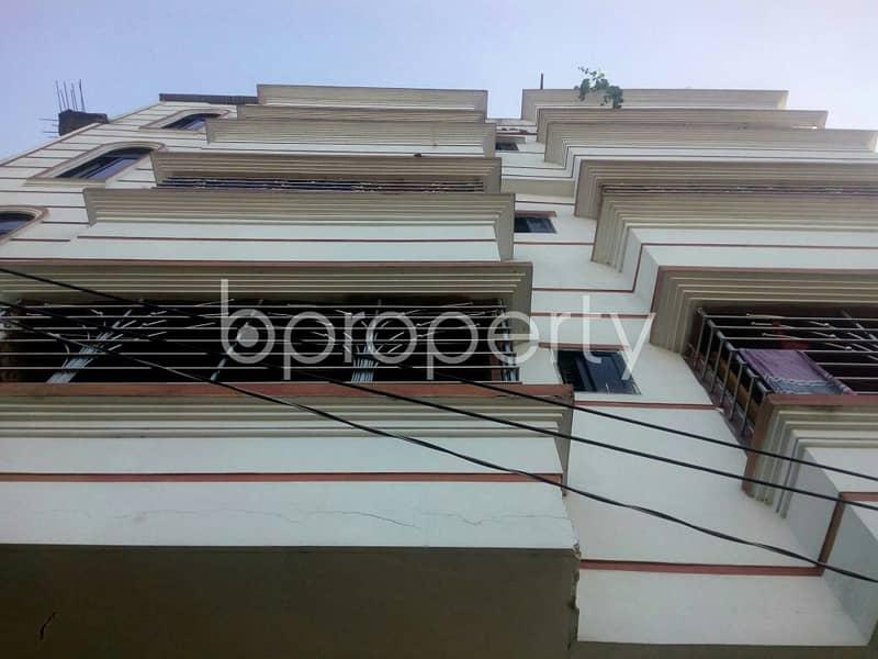 An Adequate Apartment In Shantibagh , Near Shantibag Jame Mosjid Is Up For Rent.