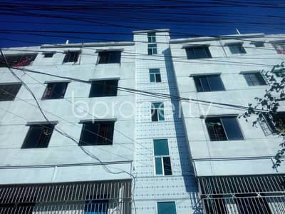 An Apartment Of 800 Sq. Ft Is Up For Rent In Shantibagh , Near Shantibag Jame Mosjid.