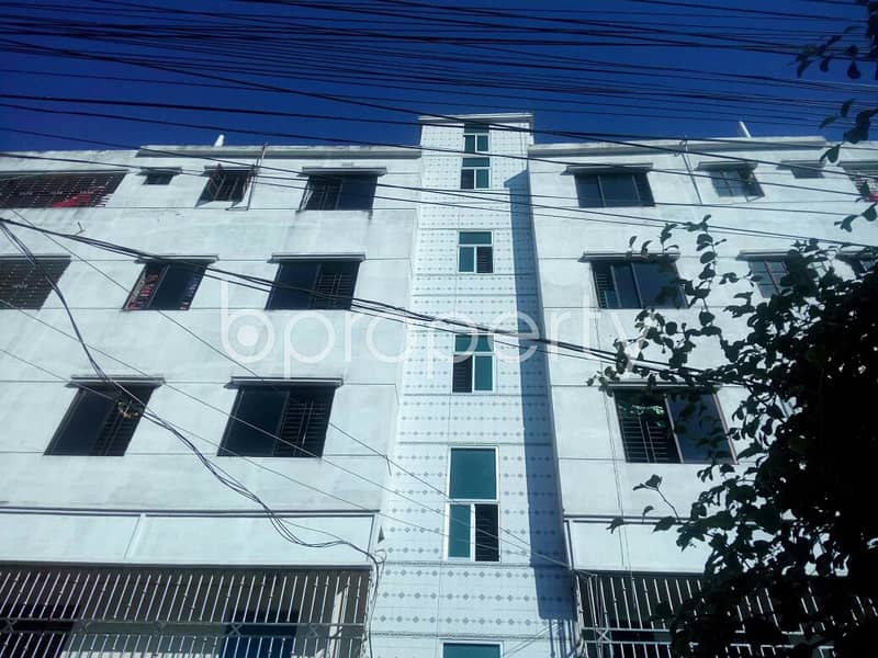 A 2 Bedroom Apartment Is Up For Rent In Shantibagh , Near Shantibag Jame Mosjid.