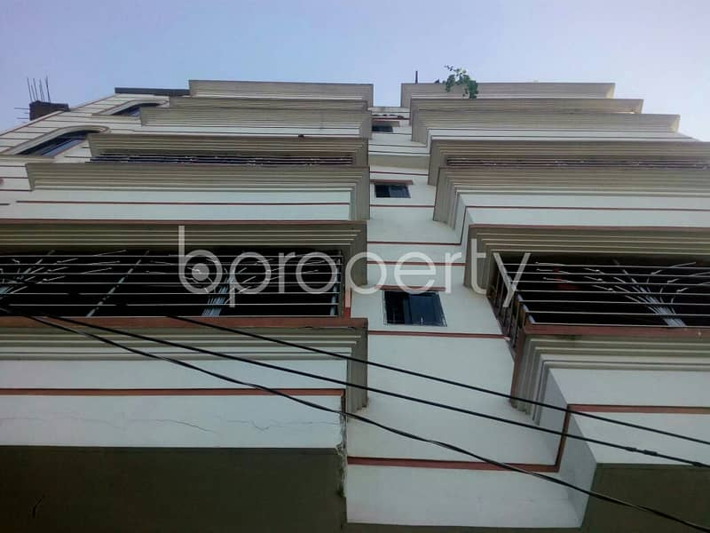 A Reasonable Apartment Is Up For Rent In Shantibagh , Near Shantibag Jame Mosjid.