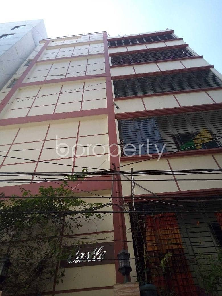 This Moderate Apartment Is For Rent In Natun Bazar Near To BRAC Bank Limited.