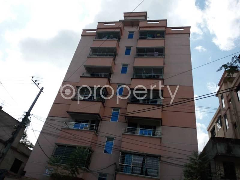 An Apartment Is Ready For Sale At Halishahar , Near Khalpar Mosque.