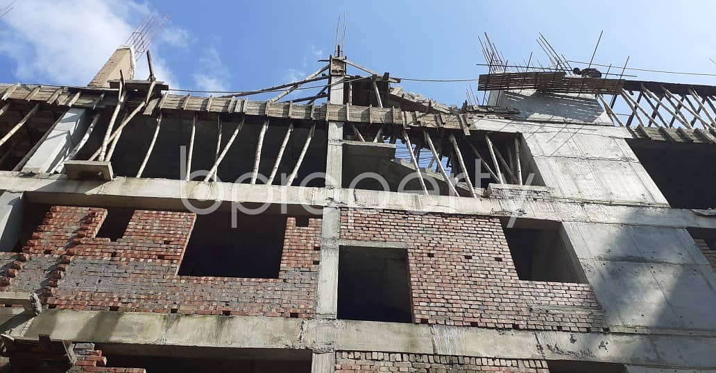 Ready Flat Is Now For Sale In Bashundhara Nearby Viquarunnisa Noon School