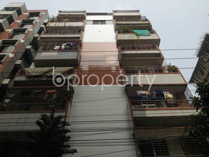 Nice 1095 SQ FT flat is available for sale in Banasree close to Shwapno
