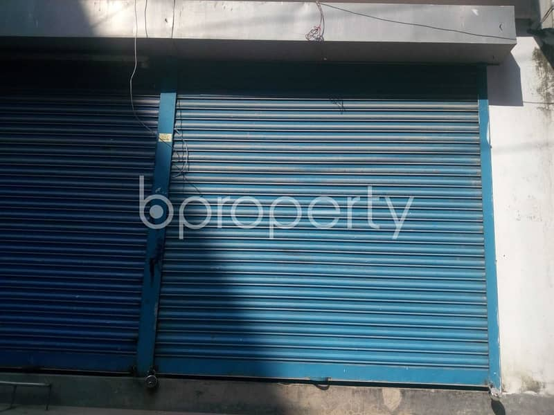 A Shop Is Up For Rent In South Banasree Project Near South Banasree Model High School