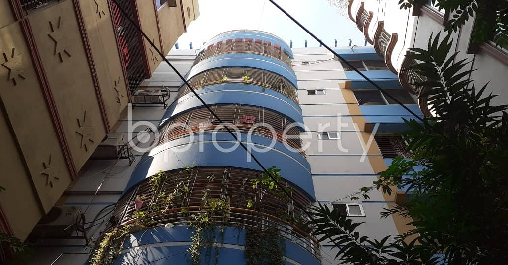 This 1040 Sq. Ft & 3 Bedroom Apartment Is For Sale In Adabor Near Crest International School & College.