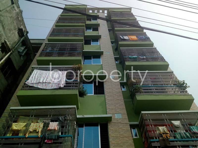 995 Sq Ft Apartment For Sale In Dakshin Khan Nearby Gaoyaira Baitun Noor Mosque