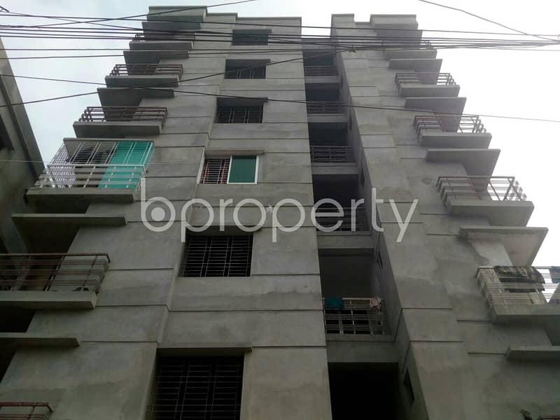 An Apartment Is Ready For Sale At Dakshin Khan , Near Al Mujahid Jame Mosque