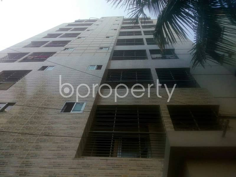 An Apartment Is Ready For Sale At Chandgaon Residential Area, Near Chandgaon Residential Area Jame Mashjid Complex.