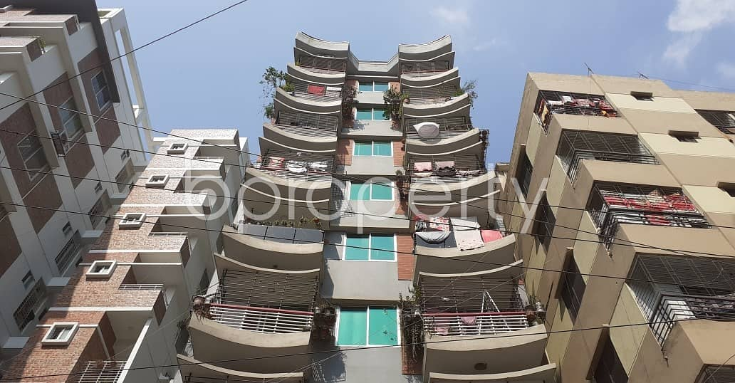 An Apartment Which Is Up For Sale At Adabor Near To CREST International School & College.