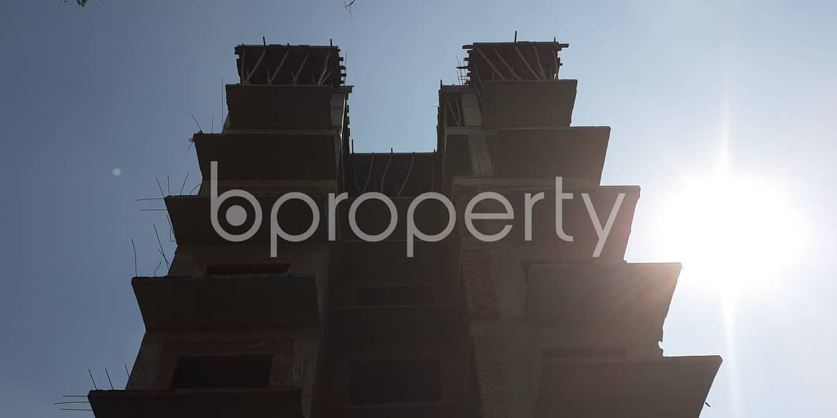 This Impressive Apartment For Sale In Bashundhara R-A Near Center For Islamic Economics Madrasa Mosque.