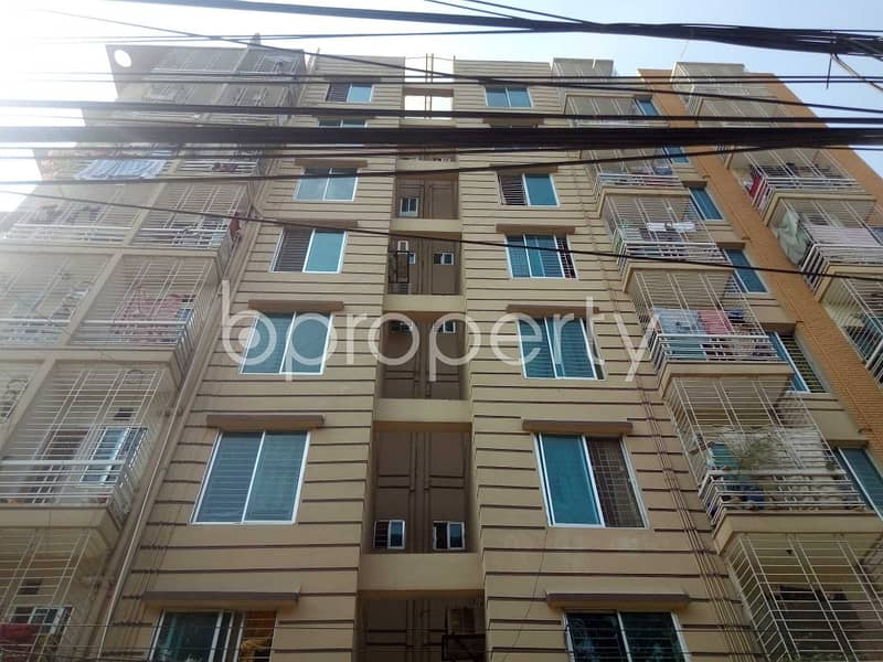An Apartment Is Ready For Sale At Modhubag , Near Holy Family Medical College Jame Mosque.