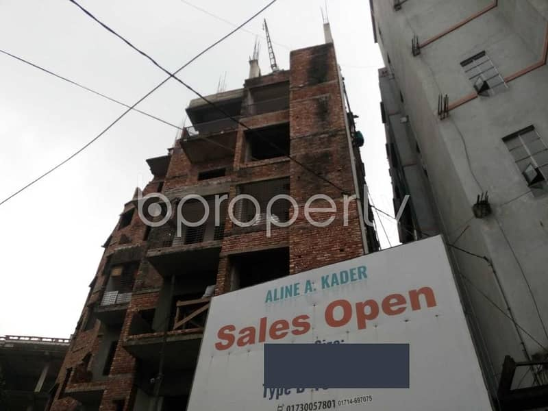 A 1320 Sq Ft Fine Flat Is Now For Sale Which Is In Senpara Parbata Near Adarsha High School