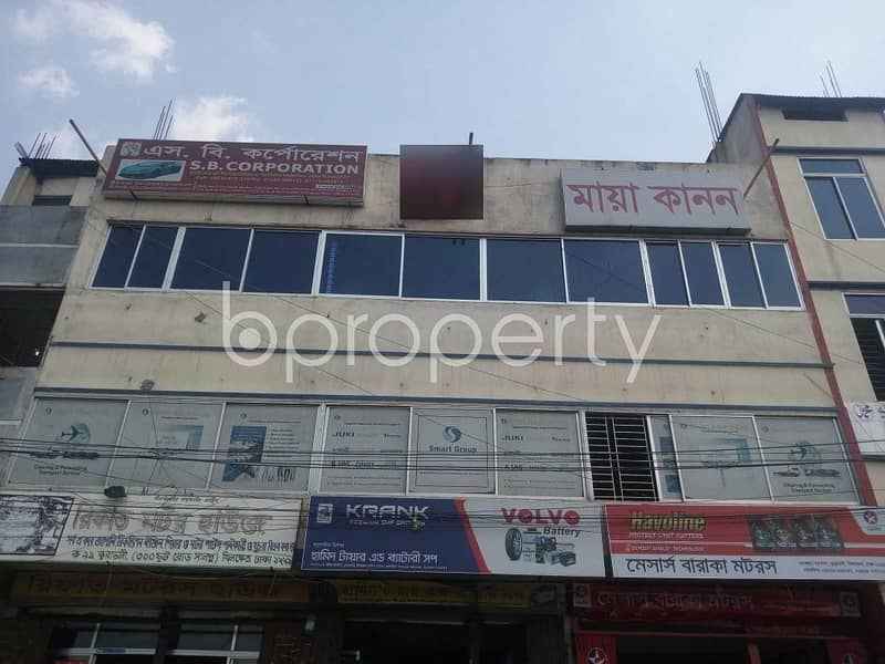 A Commercial Office Is Up For Rent In Kuril Near Kuratoli Kendriya Jame Mosjid.