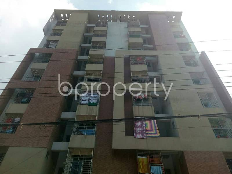 A Nice Residential Flat For Sale Can Be Found In Dakshin Khan Nearby K C Model School & College