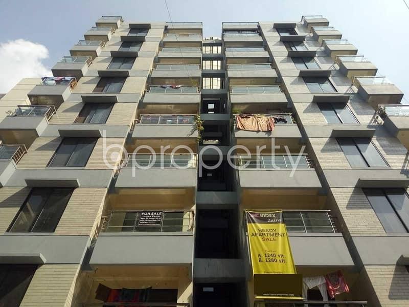 Convenient Apartment For Sale In Uttara Near Sunbeams School