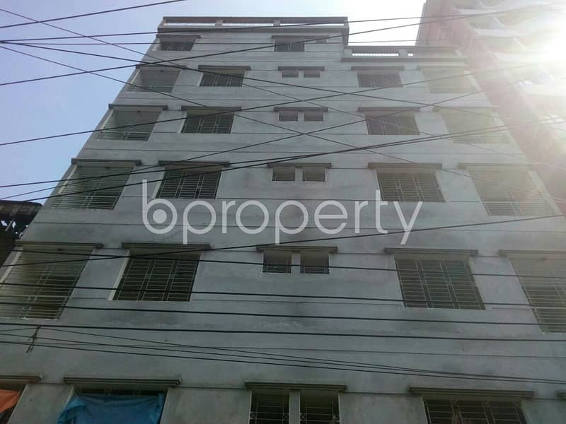 A Beautiful Building Is Up For Sale At North Azampur Near Wisdom School & College
