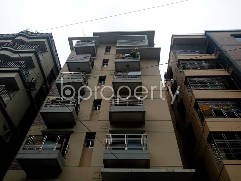A Nice And Comfortable 1550 Sq Ft Flat Is Up For Sale In Uttara