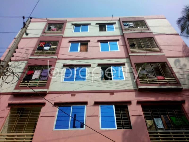 Properly Constructed Flat For Sale In Gangchor Road, Near Rupali Bank Limited