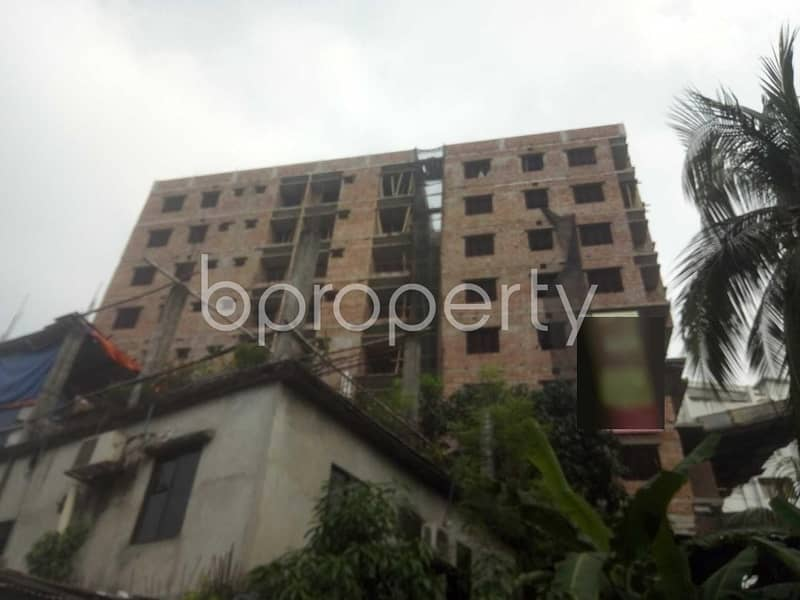At Badda 1180 Square feet flat is available for sale close to Southeast Bank