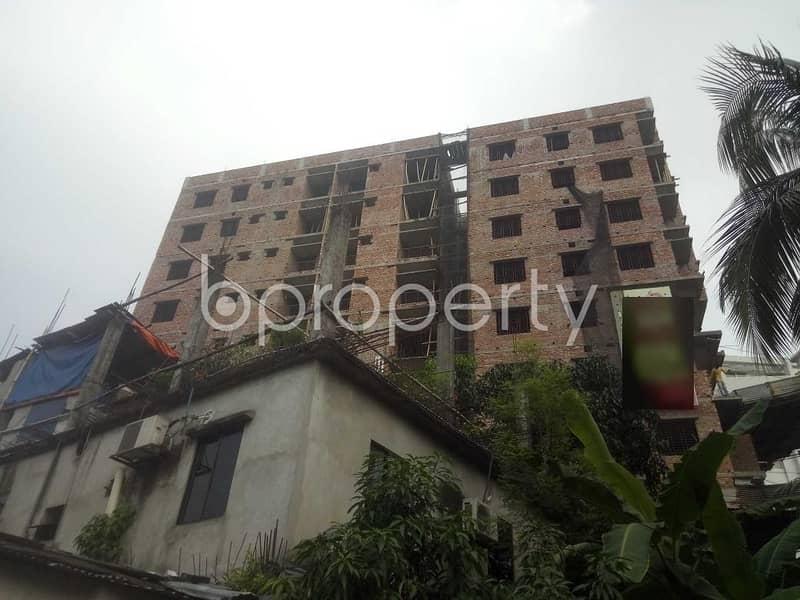 At Naya Nagar, Flat For Sale Close To Badda Thana