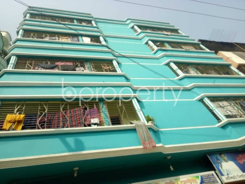 At North Patenga 480 Sq. Ft. Flat Is Up For Rent Near United Commercial Bank Limited.