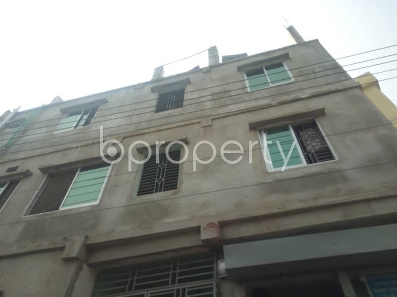 An Apartment Is Ready For Rent At Haji Mokbul Ahmed Housing Society, Near United Commercial Bank Limited.