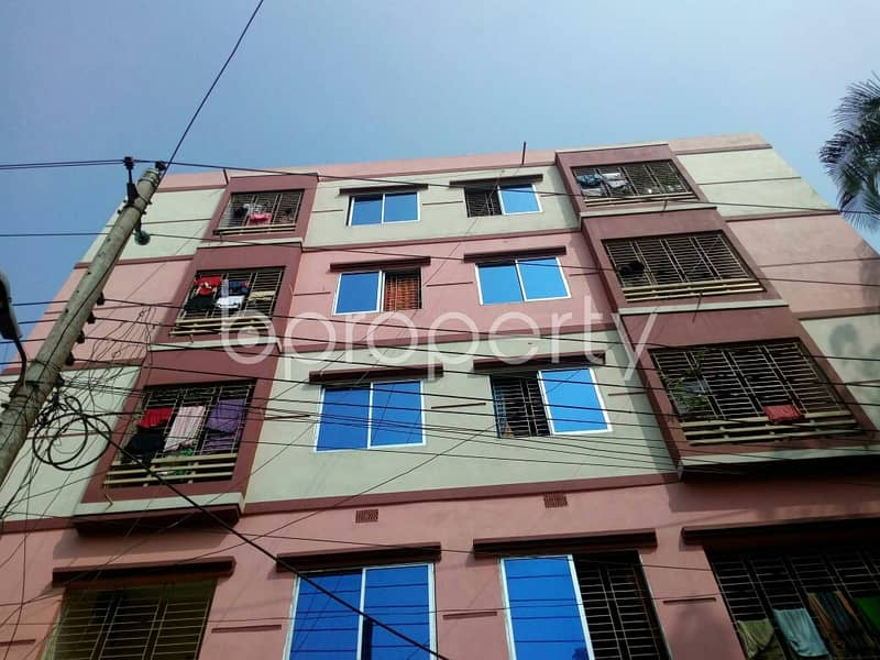 A Flat Can Be Found In Gangchor Road For Sale, Near Rupali Bank Limited