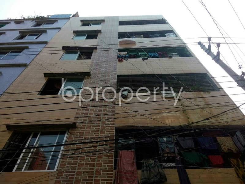 A 650 Sq. Ft Apartment Which Is Up For Sale At Mirpur Near To Academia Mirpur Campus.
