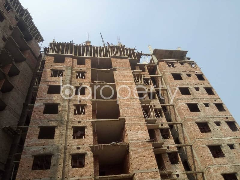 A 1201 Sq. Ft Apartment Which Is Up For Sale At Naya Nagar Near To Martin Luther College.
