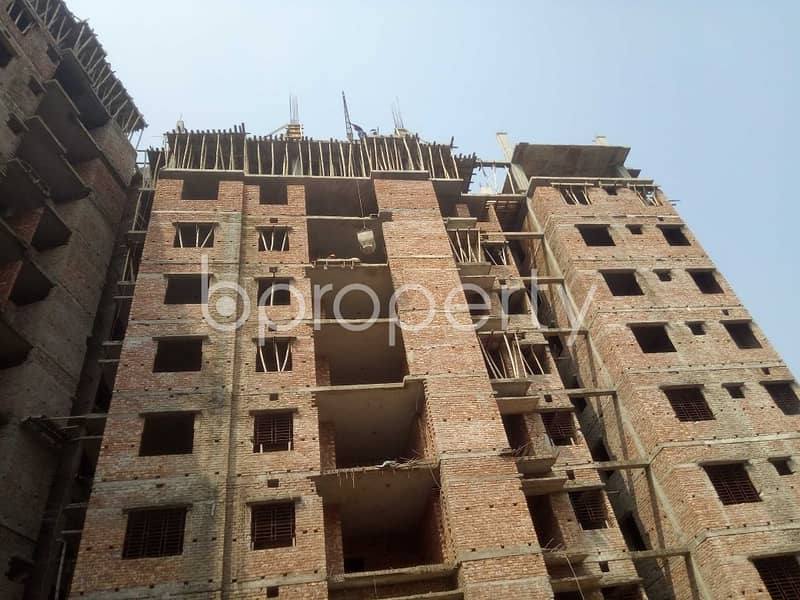 A 1417 Sq. Ft Apartment Which Is Up For Sale At Naya Nagar Near To Martin Luther College.