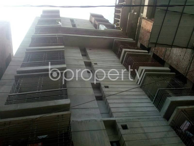 An Apartment Is Ready For Rent At West Rampura, Near Rumpura Thana(Bit office 5)DMP.