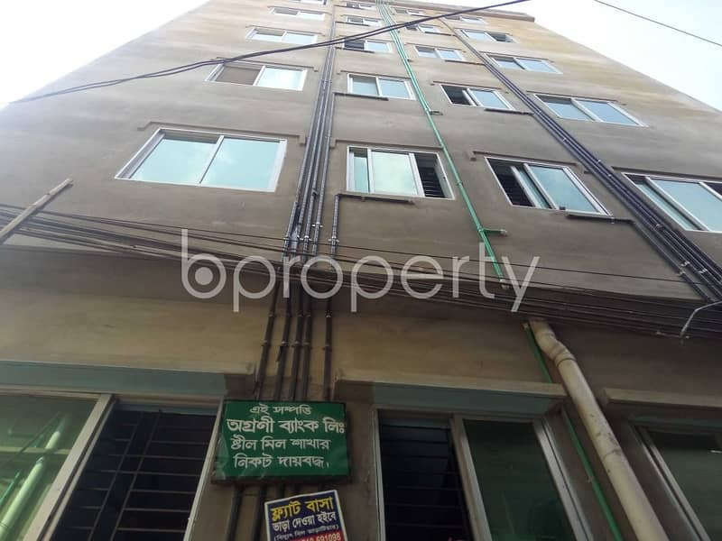 Check This Fine Looking Flat Of 600 Sq Ft Offered For Rent At North Patenga Ward
