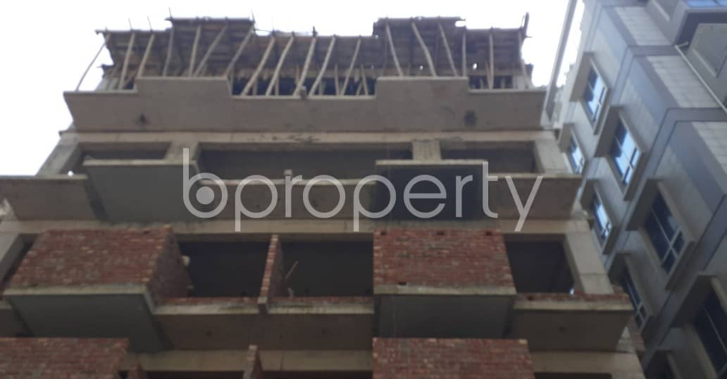 Properly Constructed Flat For Sale In Adabor, Near Crest International School & College