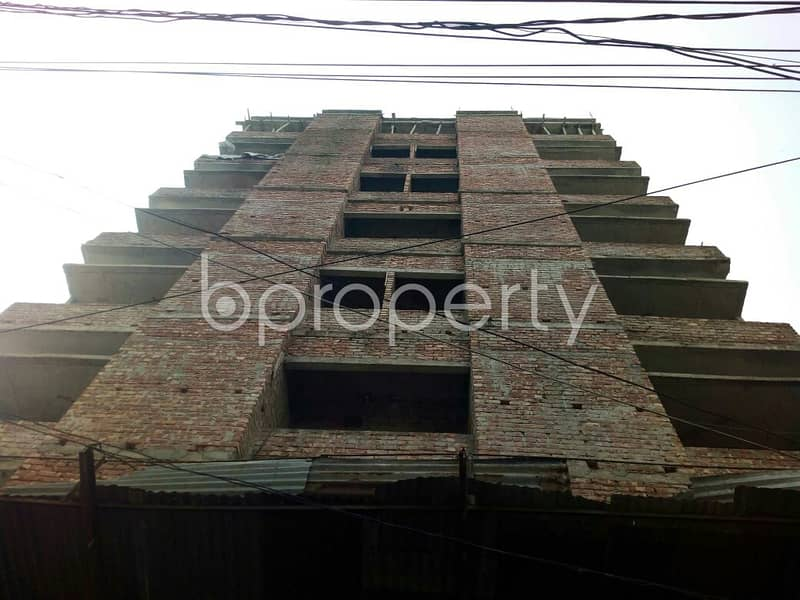 An Apartment Which Is Up For Sale At East Merul Badda Near To East Merul Jame Masjid