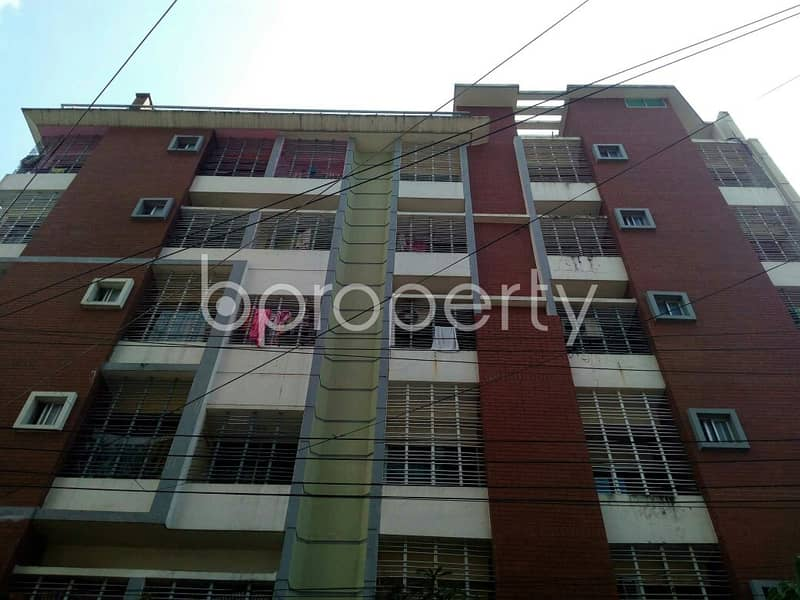 An Apartment Which Is Up For Sale At South Agrabad Near To Agrabad Mohila College.