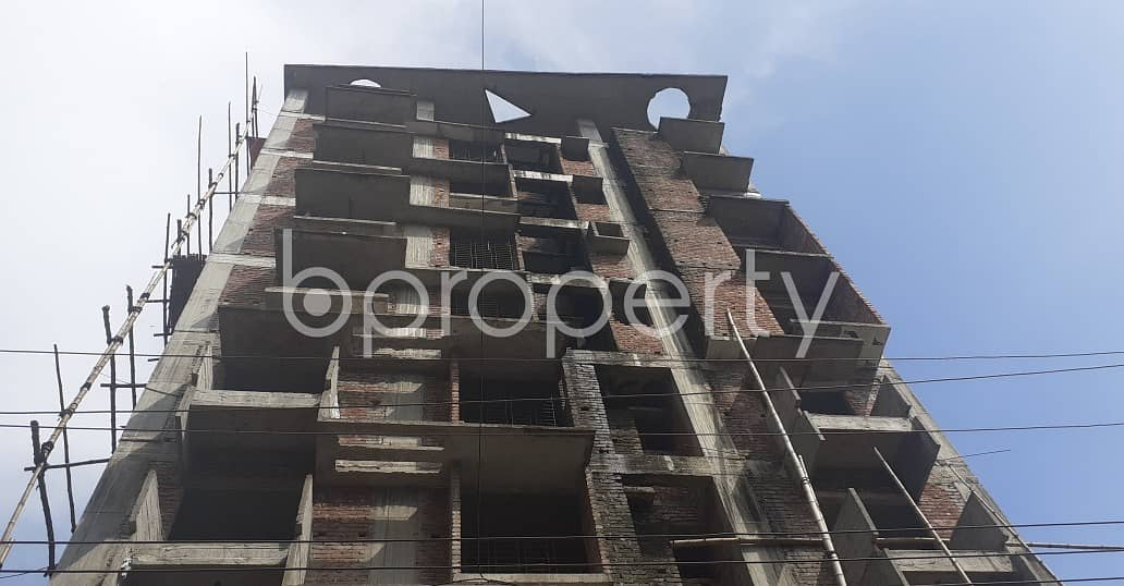 See This 1851 Sq. Ft Apartment Is For Sale In Bashundhara R-A Near IUB.