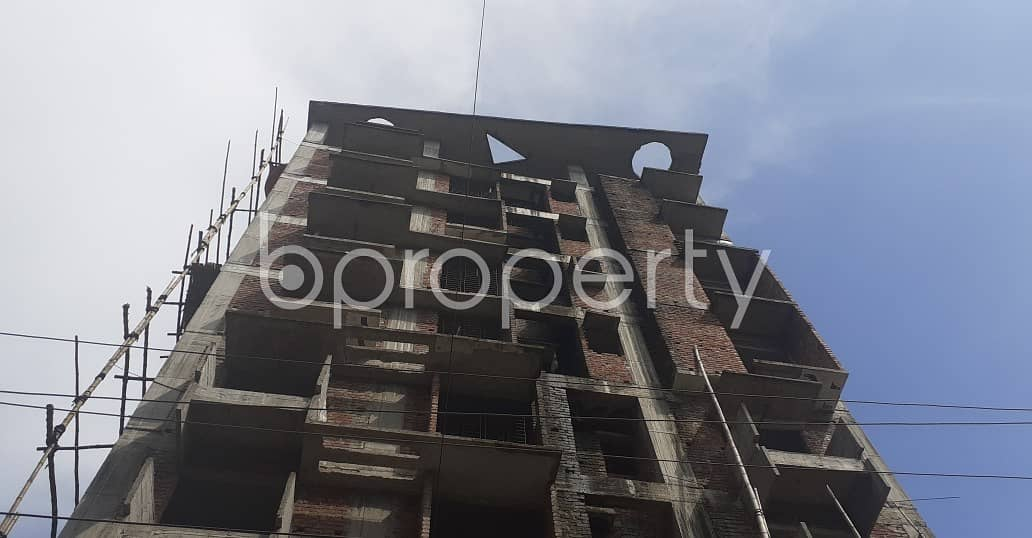 3 Bedroom And 4 Bathroom Apartment Is For Sale In Bashundhara R-A Near IUB.
