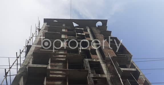 An Apartment Which Is Up For Sale At Bashundhara R-A Near To International School.