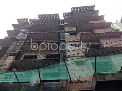 A 3 Bedroom Apartment Which Is Up For Sale At Middle Badda Near To Baitul Jannat Jame Masjeed.
