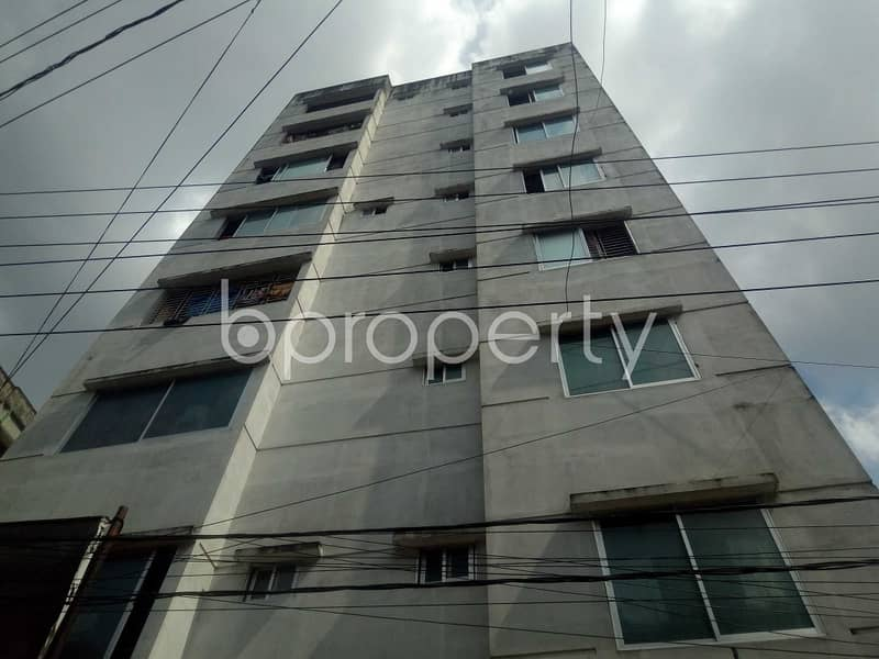 An Apartment Which Is Up For Sale At Patharghata Near To Sobahania Alia Madrasha.