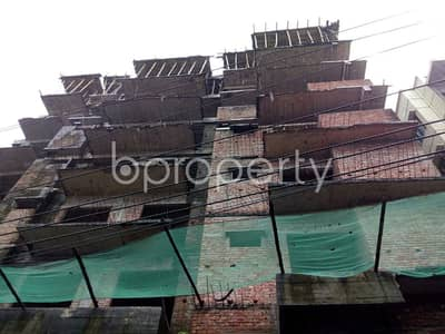 A Nice Residential Flat For Sale Can Be Found In Middle Badda Nearby Baitul Jannat Jame Masjeed