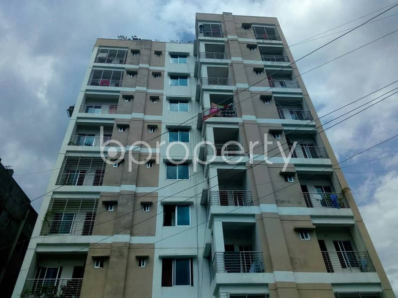 A Beautiful Apartment Is Up For Sale At South Mollartek Near Baitul Mamur Jame Mosjid