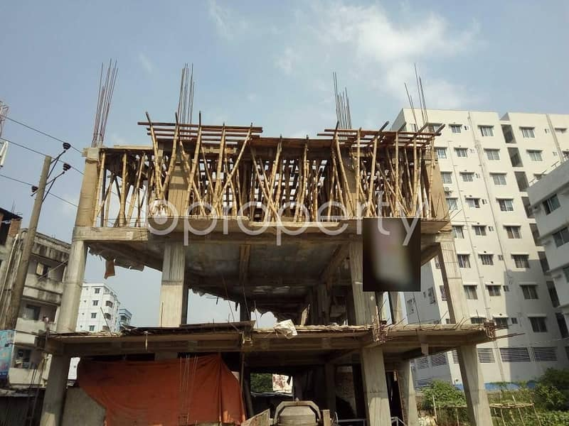 Visit This Apartment For Sale In Bashundhara R-A Near Southeast Bank Limited.
