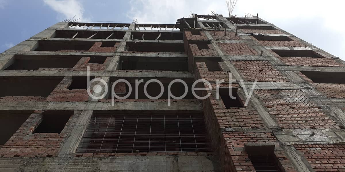 A Prominent Apartment Is For Sale In Bashundhara R-A Nearby Madinatul Ulum Madrasa Masjid.