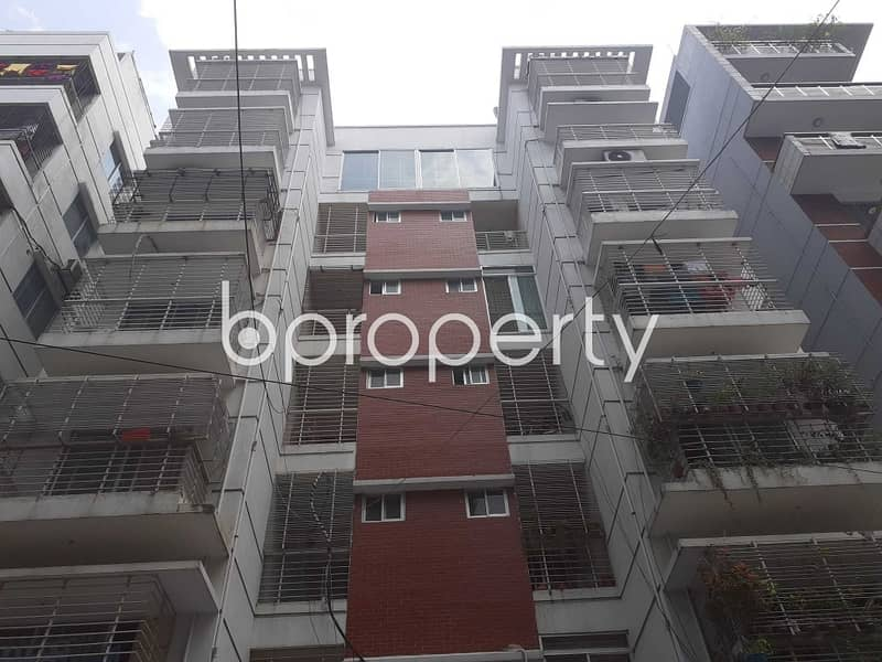 Grab This Flat Up For Sale In Bashundhara Near Viquarunnisa Noon School And College