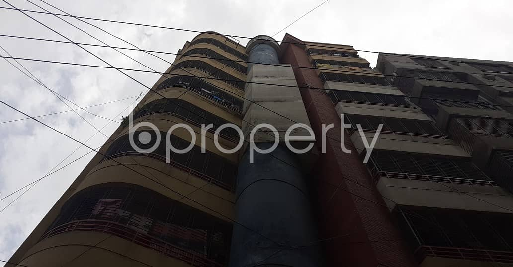On The Doorstep Of Mogbazar Plaza, An Apartment Of 1050 Sq Ft Is Ready To Sale In Tejgaon