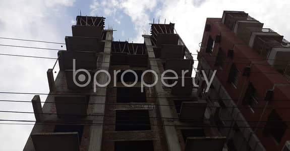 See This Nearly Finished Apartment For Sale In Bashundhara R-a Near Bashundhara Boro Masjid.