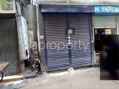 A Shop Is Up For Rent In Shahjadpur Near Mubassara Jaman Homes Mosque.